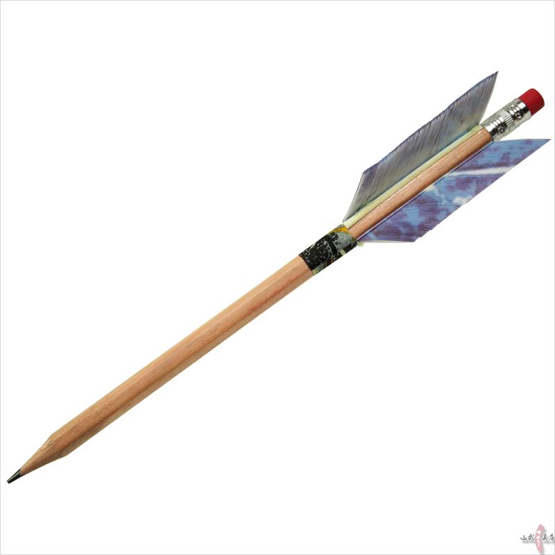 矢龍オリジナルえんぴつ矢 鉛筆...